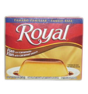 Royal Flan W-Caramel Sauce 5.5oz