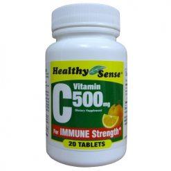 H.S Vitamin C 500mg 20ct