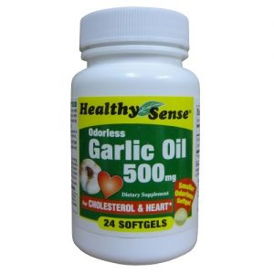 H.S Garlic Oil 500mg 24ct