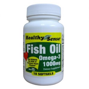 H.S Fish Oil 1000mg Omega-3 18ct
