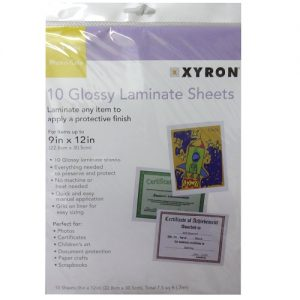 Laminate Sheets 10ct 9in X 12in