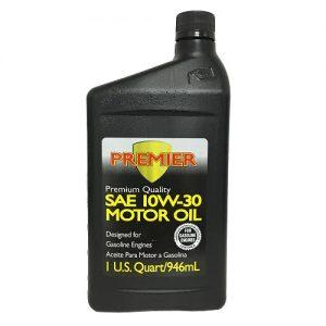 Premier Motor Oil 1qt SAE 10W-30