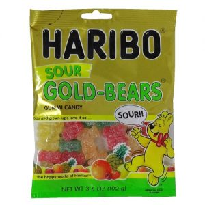 Haribo Gold-Bears Sour Gummies 3.6oz