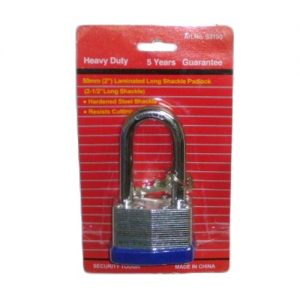 Padlock 50mm 2.5in Lng Shackle Lamina