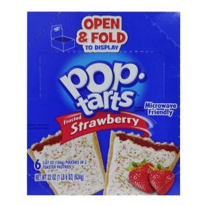 Pop-Tarts Frosted Strawberry 2pc