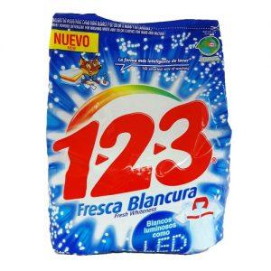 1-2-3 Detergent 900gr Fresca Blancura