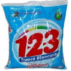 1-2-3 Detergent 500g Frsc Blancura