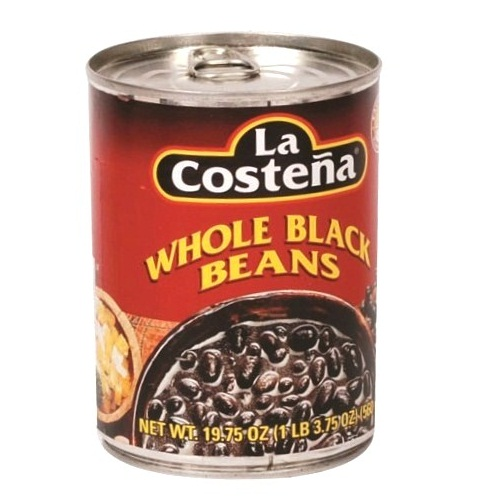 La Coste?a Beans Black Whl 19.75oz