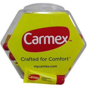 Carmex Lip Balm Orgnl 0.35oz Tube In Jar