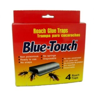 Blue-Touch Roach Glue Traps 4pk