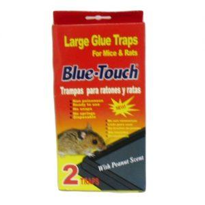 Blue-Touch Lg Glue Traps 2pk