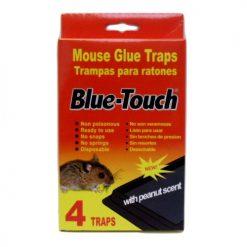 Blue-Touch Mouse Glue Traps 4pk