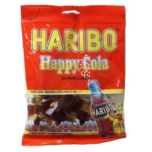 Haribo Gummies Happy Cola 4oz
