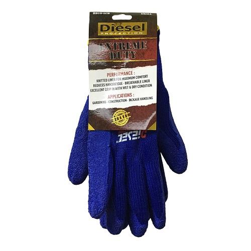 Diesel Blue Gloves Sml Extreme Duty