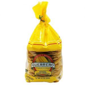 Guerrero Tostada Casera Amarillas 22ct