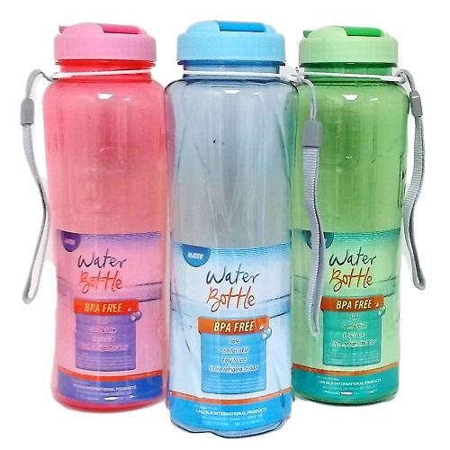 Water Bottle 33oz W-Handle Strap Asst Cl