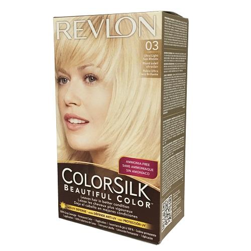 Revlon Color Silk #03 Ultr Lt Sun Blonde