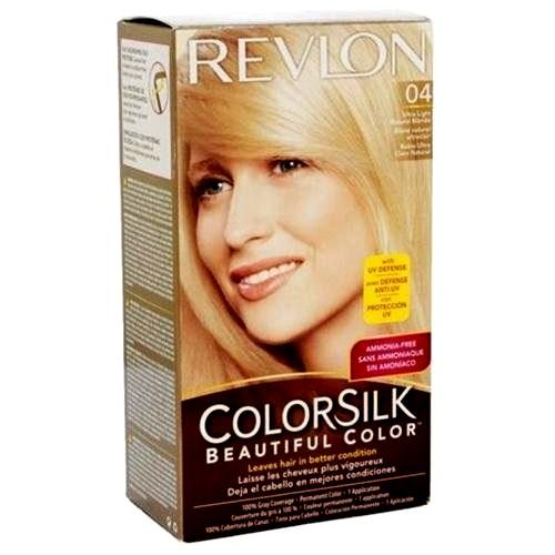 Revlon Color Silk #04 Ultra Lt Nat Blond