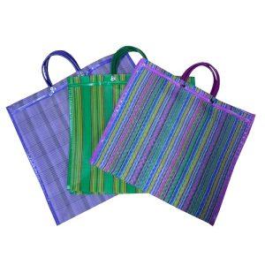 Mexican Plstc Shopping Bag Lg Asst