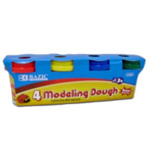 Modeling Dough 4pc Asst Clrs