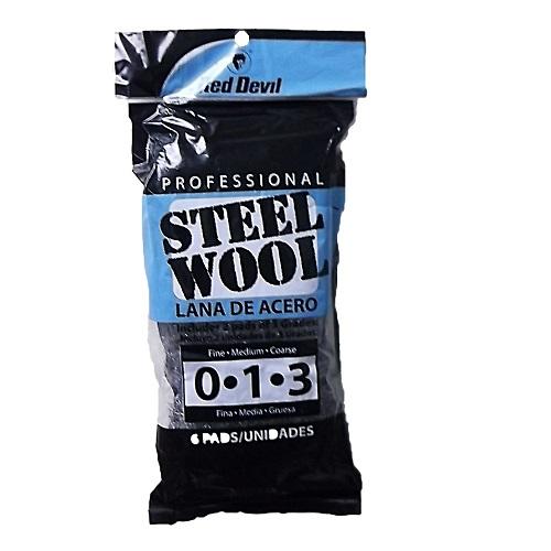 Red Devil Steel Wool 6pk
