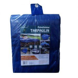 Utility Tarp 12 X 16 Blue