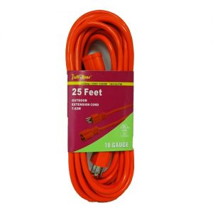 Tuff Bros Outdoor Ext Cord 25ft 16 Gauge