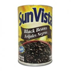 Sun Vista Black Beans Whole 40oz