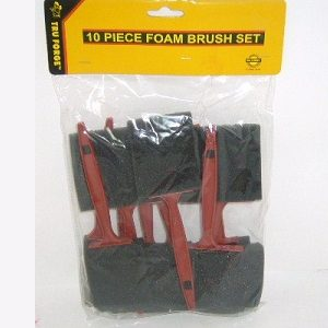 Foam Brush Set 10pc