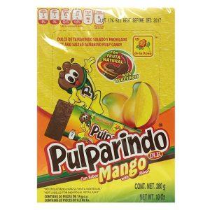 Pulparindo Mango Flvr 20ct W-Chili