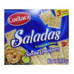 Cuetara Saladas 11.64oz Saltine Crackers