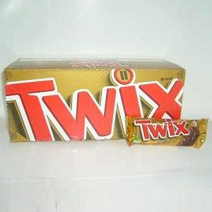 Twix Choc Caramel Cookie Bars 1.79oz