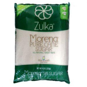 Zulka Morena Pure Cane Sugar 4 Lbs