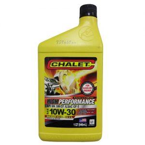 Chalet Motor Oil SAE 10W-30 1qt
