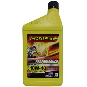 Chalet Motor Oil 1qt 10W-40 High Perform