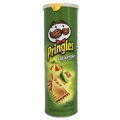 Pringles 5.57oz Jalape?o Crisps