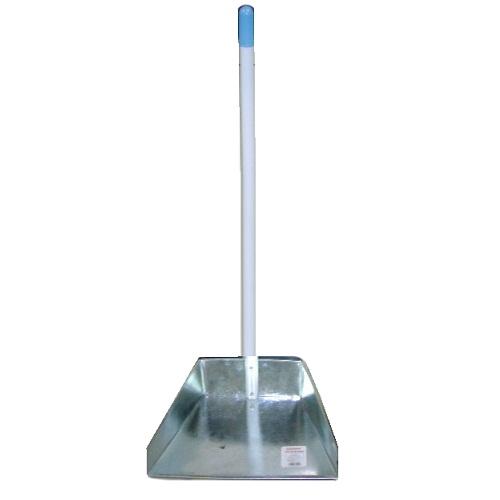 Dust Pan W-Long Handle Metal