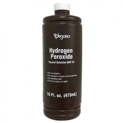 Degasa Hydrogen Peroxide 3% 16oz