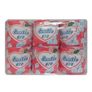 Emile 510 Bath Tissue 1pk 500ct Pink