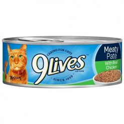 9 Lives 5.5oz Chicken Meaty Pate