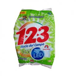 1-2-3 Detergent 900gr Rocio Del Campo