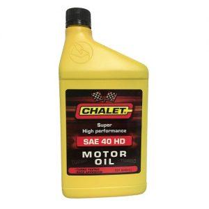 Chalet Motor Oil SAE 40 HD 1qt