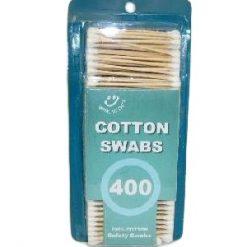 Cotton Swabs 400ct Wooden