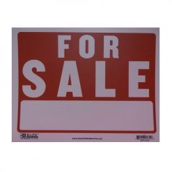 Sign FOR SALE 12 X 16in