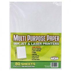 Multi Purpose Paper 80ct 8.5 X 11in