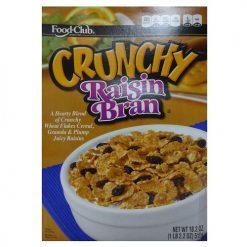 Food Club Cereal 18.2oz Crunchy Raisin