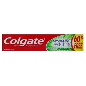 Colgate 4.0oz Sprklng White Mint Zing Ge