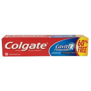 Colgate 4.0oz Cavity Protection Reg Flvr