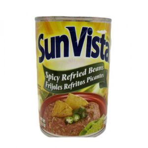 Sun Vista Pinto Beans 15.2oz Rfrd Spicy