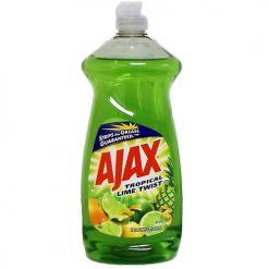 Ajax Dish Liq 28oz Tropical Lime Twist